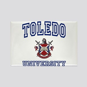 TOLEDO University Rectangle Magnet