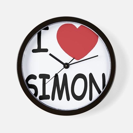 SIMON Wall Clock
