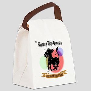 DONKEY_BOY Canvas Lunch Bag