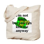 Not Irish Kiss Me Hat  Tote Bag