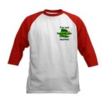 Not Irish Kiss Me Hat Kids Baseball Jersey