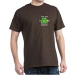 Not Irish Kiss Me Hat Dark T-Shirt