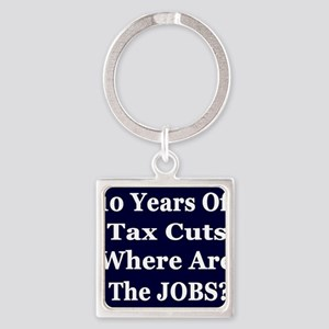 10 years ARE Jobst dk b-w Tshirt Square Keychain