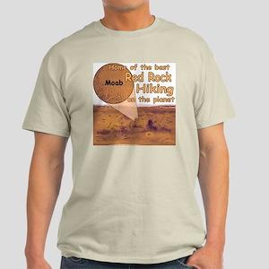 Moab Red Rock Hiking Light T-Shirt