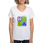 New Orleans NOLA Women's V-Neck T-Shirt