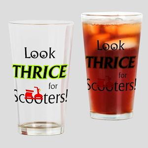 1_LookThrice Drinking Glass