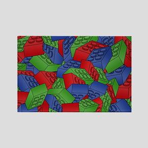 men_wallet_01 Rectangle Magnet