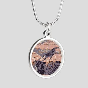men_wallet_09 Silver Round Necklace