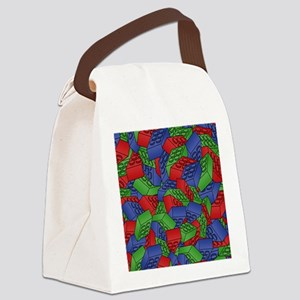 men_wallet_01 Canvas Lunch Bag