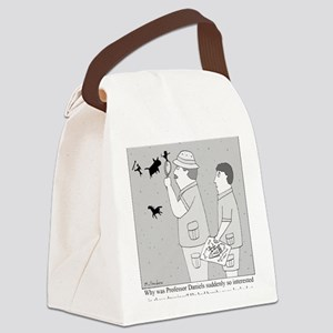 Cave Drawings Canvas Lunch Bag