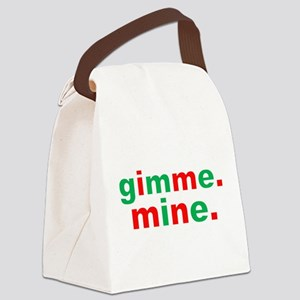 Gimme Mine Canvas Lunch Bag