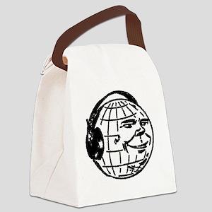 DJ_Earth Canvas Lunch Bag