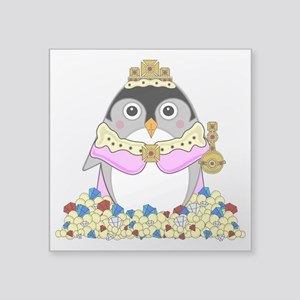 "Princess Babyguin Square Sticker 3"" x 3"""