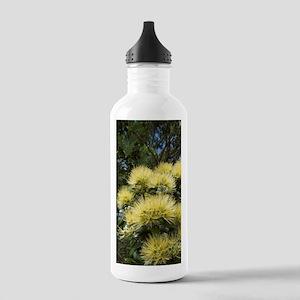 Yellow Pohutukawa Flow Stainless Water Bottle 1.0L