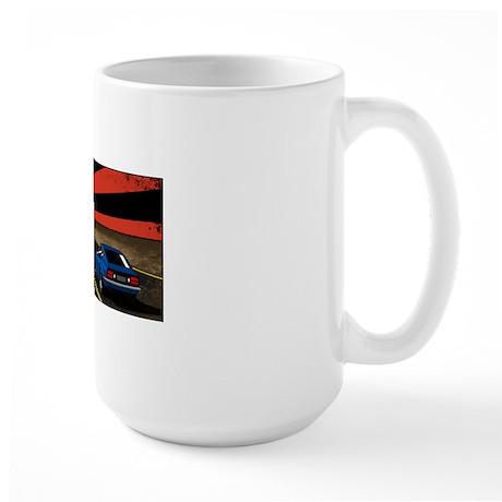240Z rising sun Large Mug