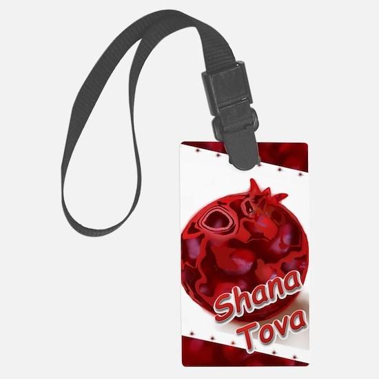 Pomegranate Rosh Hasana – Shana  Luggage Tag