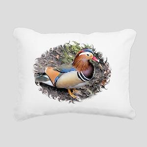 Mandarin5 Rectangular Canvas Pillow