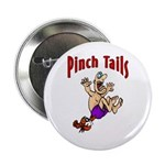 Pinch Tails Crawfish Button
