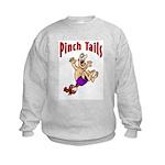 Pinch Tails Crawfish Kids Sweatshirt