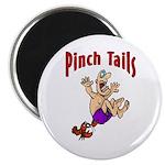 Pinch Tails Crawfish Magnet