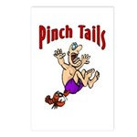 Pinch Tails Crawfish Postcards (Package of 8)