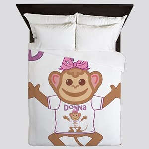 donna-g-monkey Queen Duvet