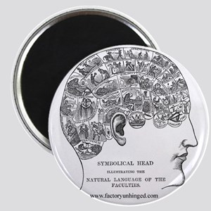 Symbolical Head Magnet