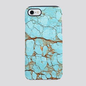 TURQUOISE MARBLE iPhone 7 Tough Case