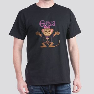 gina-g-monkey Dark T-Shirt