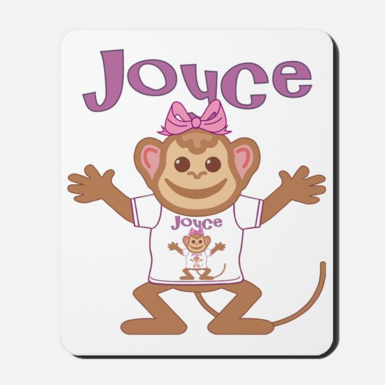 joyce-g-monkey Mousepad