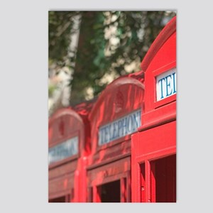 Style Telephone Booths. G Postcards (Package of 8)