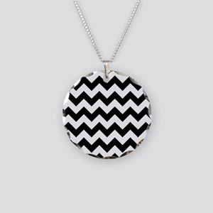 chevron-pattern_13-5x18v Necklace Circle Charm