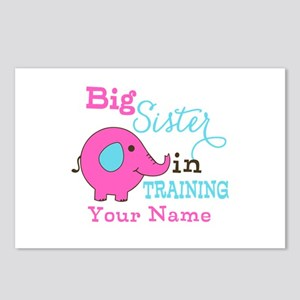 Big Sister in Training - Personalized Postcards (P