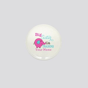 Big Sister in Training - Personalized Mini Button
