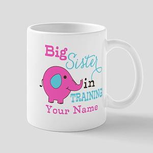Big Sister in Training - Personalized Mug