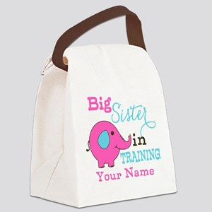 Big Sister in Training - Personalized Canvas Lunch