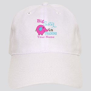 Big Sister in Training - Personalized Cap