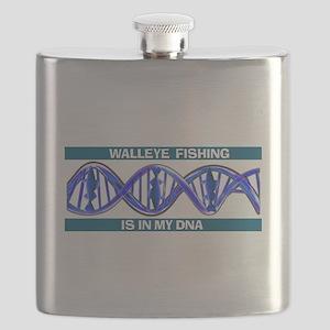 Walleye Fishing Flask