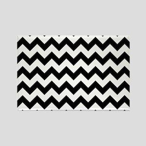 chevron-pattern_15x18h Rectangle Magnet