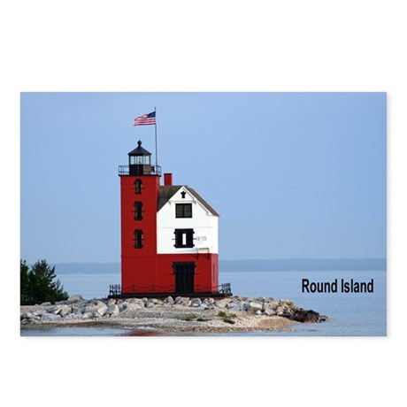 Great Lakes Light Houses Postcards (Package of 8)