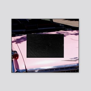 Classic 1959 pink Cadillac convertib Picture Frame
