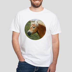 Haflinger White T-Shirt