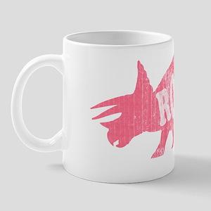 triceratops_pink_wash Mug