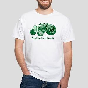 American Farmer White T-Shirt