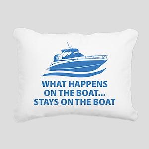 onaboat3 Rectangular Canvas Pillow