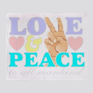 lovepeacemknd Throw Blanket