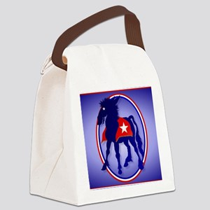 CalenderDemDonkey Canvas Lunch Bag