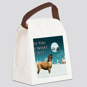 do-you-see-notecard Canvas Lunch Bag