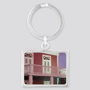 Caribbean, Dutch Antilles, Arub Landscape Keychain