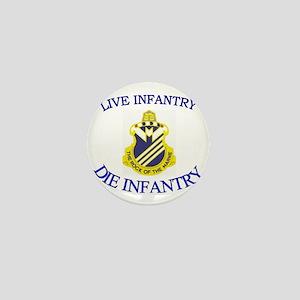 1st Bn 38th Infantry cap3 Mini Button